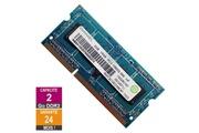 Ramaxel Barrette mémoire 2go ram ddr3 ramaxel rmt3010ec58e8f-1333 so-dimm pc3-10600 1333mhz 1rx8