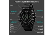 Skmei Sport bluetooth étanche montre smart watch phone mate pour smartphone bk smartwatch 83