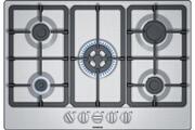 Siemens Table de cuisson gaz 75cm 5 feux inox - siemens - eg7b5qb90