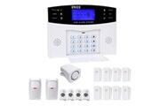 Prixwhaou Système d'alarme-ya-500-gsm-24 16 dans 1 kit sans fil 315/433 mhz gsm sms sécurité maison système d'alarme anti-effraction avec écran lcd