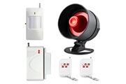 Prixwhaou Système d'alarme-ya-301 5 dans 1 système sans fil de sécurité à la maison d'alarme de maison de système