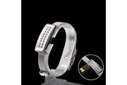 Prixwhaou Clés usb-u disque de style de montre portable de 2.0 usb de 4gb (argent)