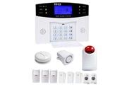 Prixwhaou Système d'alarme-ya-500-gsm-27 12 dans 1 kit sans fil 315 / 433mhz gsm sms sécurité maison système d'alarme anti-effraction avec écran lcd