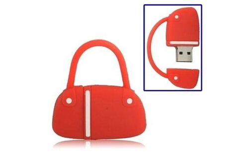 Prixwhaou Clé usb -sac à main style usb flash disk, 8 go(rouge)
