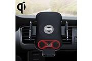 Prixwhaou.fr Chargeur sans fil- jr-zs163 chi série qi standard sans fil rapide chargeur intelligent automatique infrarouge sensing car air vent mount (noir)