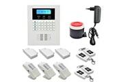 Prixwhaou.fr Système d'alarme-ya-600-gsm & pstn-5 système d'alarme gsm pstn à double réseau, alarme gsm avec écran lcd sans fil