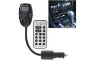 Prixwhaou Transmetteur fm-émetteur fm voiture 610s avec télécommande, carte sd de soutien et téléphone mains libres