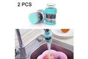 Prixwhaou.fr Filtres-filtre à eau de robinet de filtre à eau de cuisine 2 pcs maifanstone (bleu)