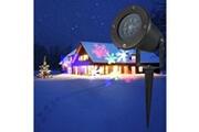 Prixwhaou Extérieur laser-lampe de projection résistante à l'eau (lumière colorée)