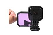 Prixwhaou Filtre d'objectif-filtre de plongée d'accessoire de plongée de logement standard pour la session de gopro hero4