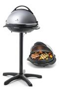 SENYA Barbecue électrique 2 en 1 sur pied et sur table easy grill