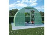 GENERIQUE Jardinage edition dacca serre avec fondation en acier 4,5 m² 300x150x200 cm