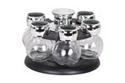 Promobo Coffret carrousel pots a epices avec tourniquet design rond luxe