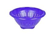 Promobo Passoire pour pâtes et salades design city spirale iris diamètre 25,5cm