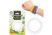 Promobo Bracelet anti-moustique senteur citronelle extensible fluo blanc