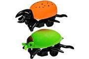 Promobo Lot 2 mini insectes à friction jouet enfant blague cafard blatte