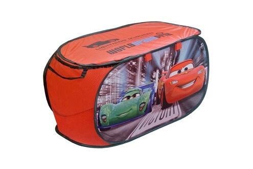 Disney Coffre à jouets panier de rangement disney cars flash mcqueen