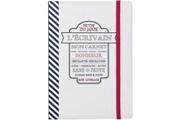 Promobo Cahier carnet de note mon carnet bonheur blanc thème brasserie