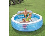 GENERIQUE Icaverne - piscines superbe intex piscine gonflable swim center family lounge pool 57190np