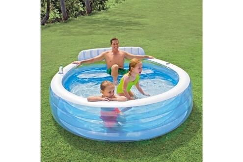GENERIQUE Icaverne - piscines contemporain intex piscine gonflable swim center family lounge pool 57190np