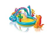 GENERIQUE Icaverne - piscines moderne intex piscine gonflable dinoland play center 333x229x112 cm 57135np