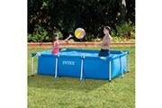 GENERIQUE Icaverne - piscines distingué intex piscine rectangular frame 260 x 160 x 65 cm 28271np
