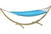 Amazonas Hamac avec support en bois miami aqua