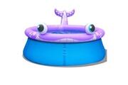 GENERIQUE Icaverne - piscines magnifique jilong piscine gonflable de pulvérisation forme baleine 175x62 cm 1143 l
