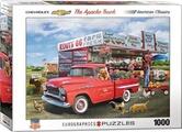 Hevea Transat plage roulettes transportable ferrari rayé bleu