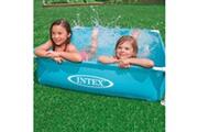 GENERIQUE Icaverne - piscines moderne intex piscine hors sol mini frame 122 x 122 x 30 cm 57173np