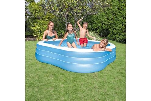GENERIQUE Icaverne - piscines inedit intex piscine beach wave 229x229x56 cm 57495np