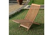 Teck'attitude Chaise longue en teck relax