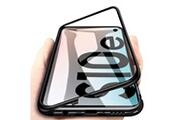 Phonillico Coque magnétique noir protection métal pour samsung galaxy s10e [phonillico®]