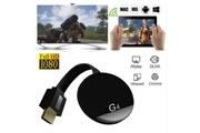 Qumox Récepteur adaptateur g4 miracast dongle wifi sans fil 1080p hdmi tv stick airplay miracast dlna