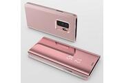 Phonillico Coque rabat miroir rose pour samsung galaxy s9 [phonillico®]