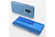 Phonillico Coque rabat miroir bleu pour samsung galaxy s10 [phonillico®]