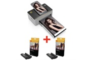 Kodak Kodak imprimante photo dock pd 450 + 80 papiers photos et cartouches - 2 * phc 40--