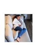 CANDIDE Coussin confort evolutif jersey gris chiné