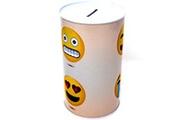 Guizmax Tirelire en metal smiley xl emoji emoticone 4