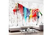 No-name 100x70 papier peint animaux contemporain urban safari