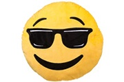 Out Of The Blue Coussin rond emoji 30 cm