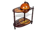 GENERIQUE Armoires et meubles de rangement edition erevan support de vin autoportant sous forme de globe bois