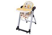 Arshiner Chaise de bébé télescopique pliable multifonctionnelle jaune