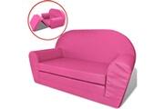 GENERIQUE Mobilier pour bébés et tout-petits gamme new delhi chaise longue pliable pour enfants rose