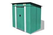 GENERIQUE Structures extérieures reference koweït abri de jardin métal vert