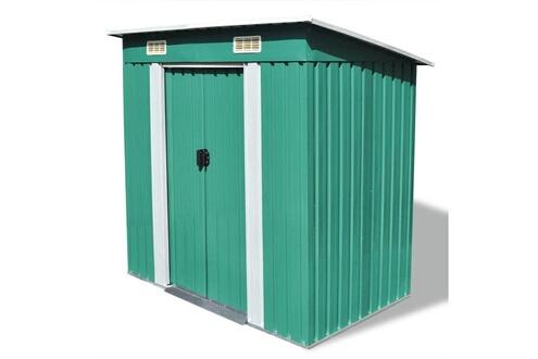 GENERIQUE Structures extérieures collection port moresby abri de jardin métal vert