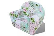 GENERIQUE Mobilier pour bébés et tout-petits collection bissau fauteuil pour enfants motif de fleurs
