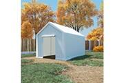 GENERIQUE Structures extérieures categorie roseau tente de rangement pe 3 x 4 m blanc