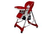 GENERIQUE Mobilier pour bébés et tout-petits collection sucre chaise haute pour bébés bordeaux hauteur réglable