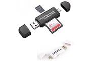 Alpexe Alpexe lecteur de cartes mémoire, sd / micro sd / micro usb otg vers usb 2.0 adaptateur